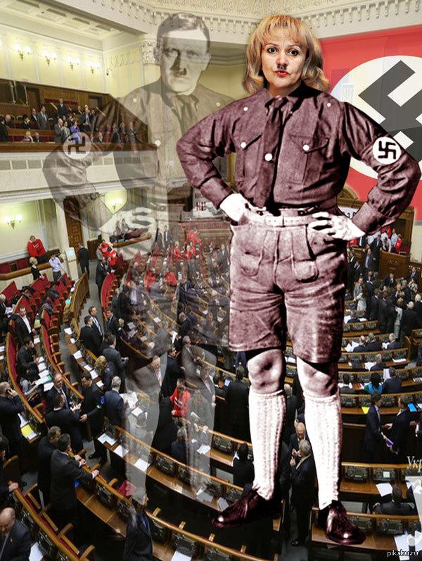 На Украине дело Гитлера живёт и побеждает. Известная своей гипертрофированной русофобией, Ирина Фарион. / Мобильная версия Pikab