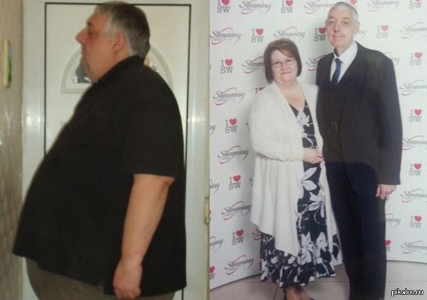 """Звездные войны мотивируют Британец Алан Отс похудел на 120 кг из-за одной-единственной шутки: жена сравнила мужа с Джаббой Хатт из фильма """"Звездные войны"""".  джабба хатт, Похудение"""