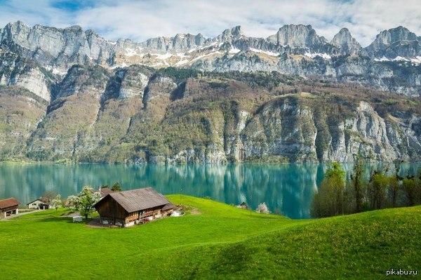 Прекрасная Швейцария. пусть, среди многочисленных постов о политике, будет место и красивым пейзажам  Природа, Швейцария, пейзаж