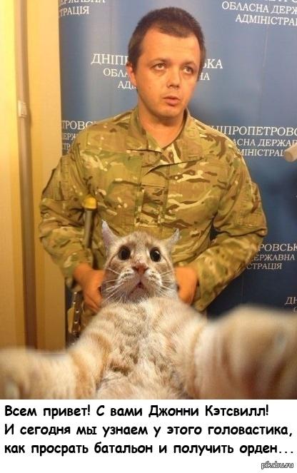 Полит.юмор   Украина, батальон донбасс, Джонни Кэтсвилл