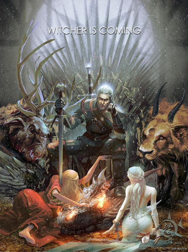 Witcher is coming *как же надоело его ждать* ведьмак 3, Ведьмак, Картинки