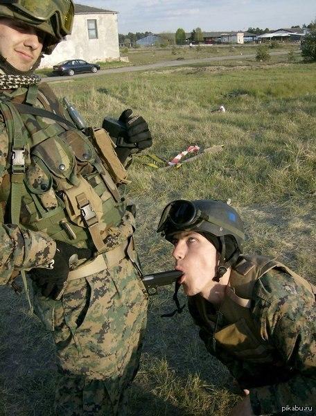 конилингус в армии