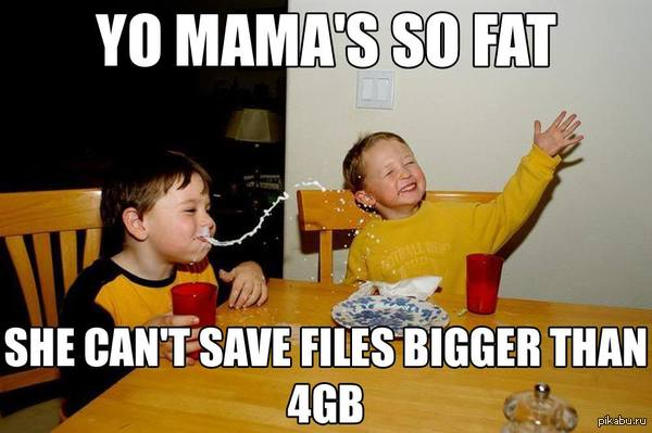 ������� NTFS �����   fat32, ��������, �������� �������