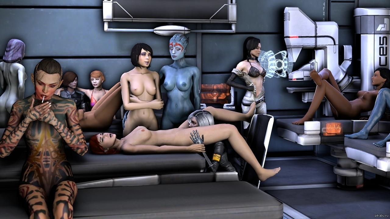 Mass effect nude mode