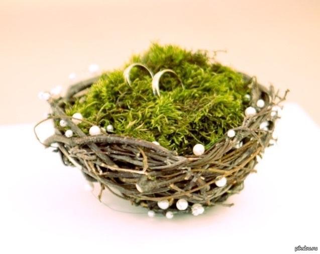 Пасхальная композиция — Гнездо с птичкой Мастер