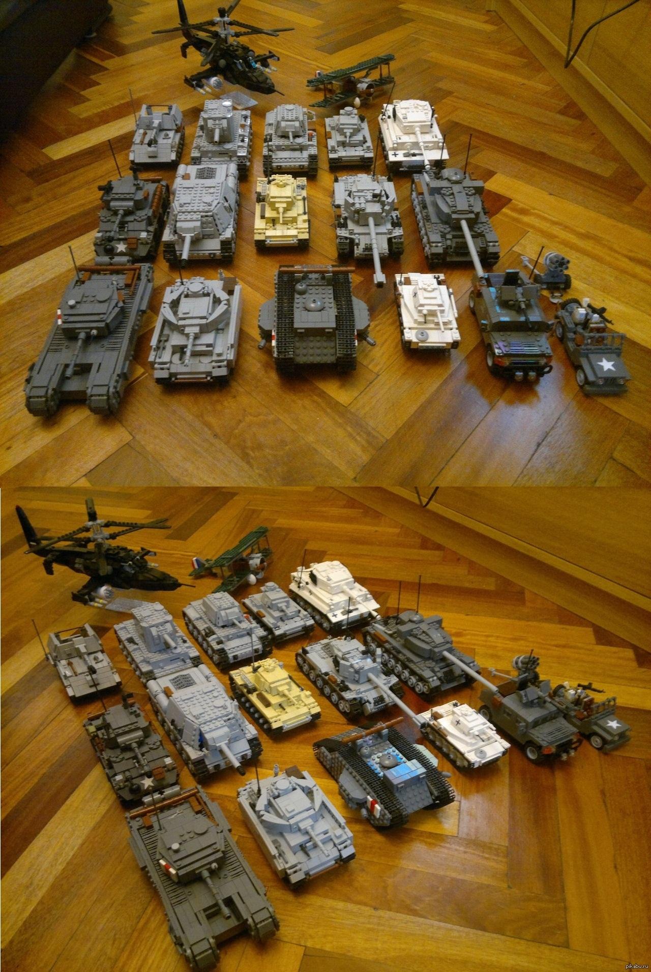 фото лего танков