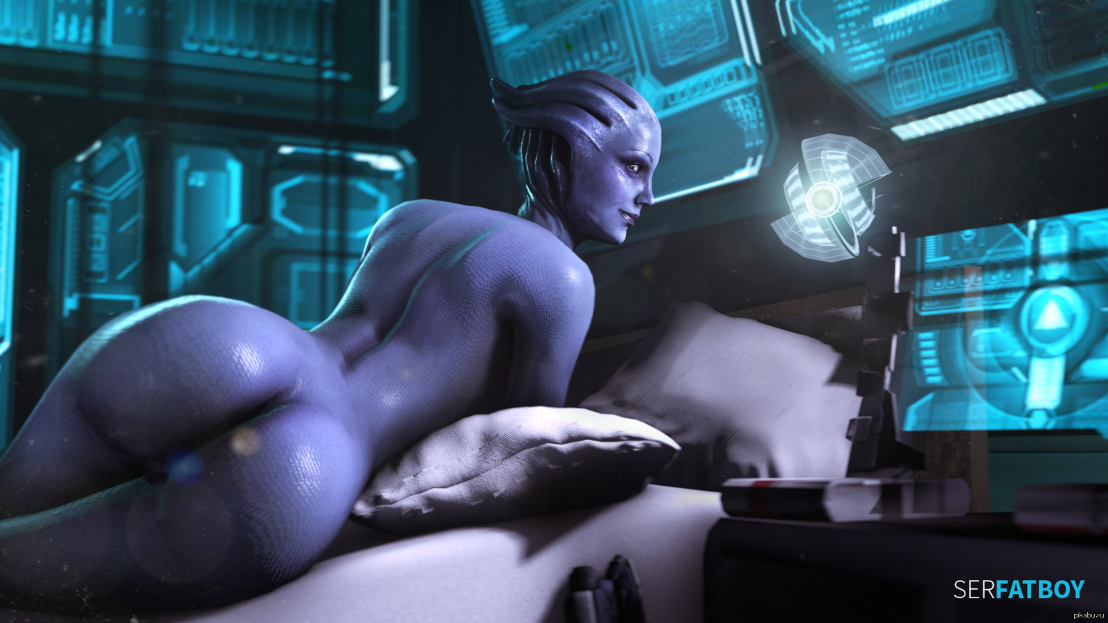 Mass effect liara is sexy porn naked videos