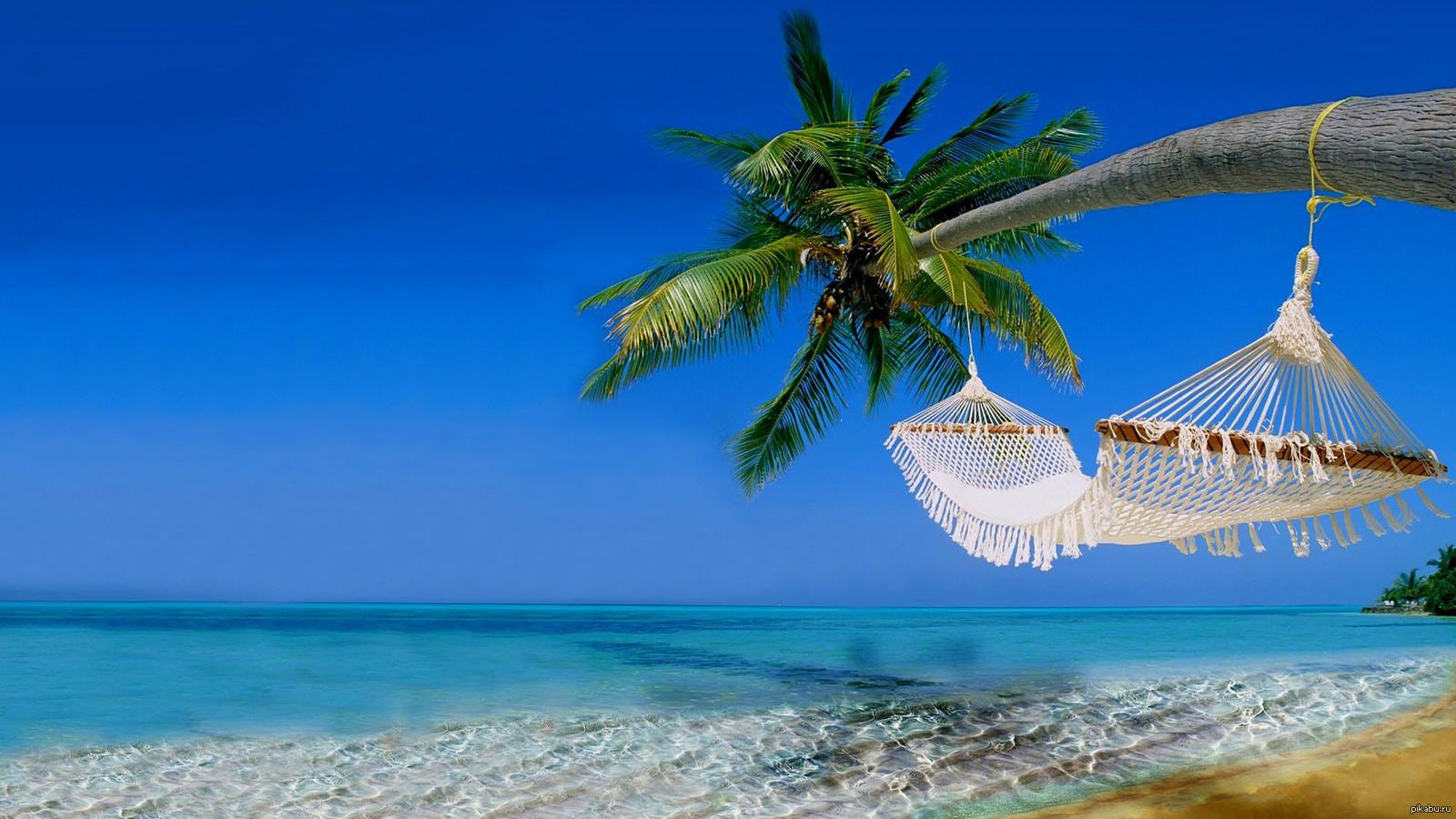 Обои для рабочего стола скачать бесплатно пляж