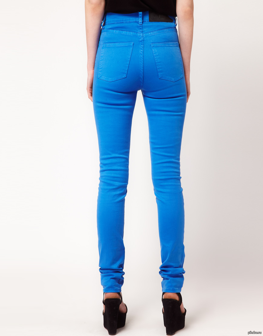 Девушки джинсы сзади фото