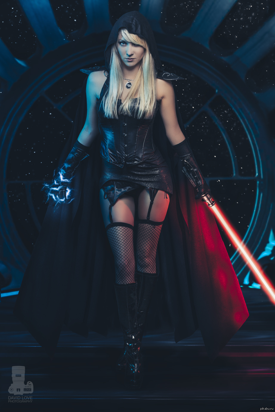 Sexy hot female sith lord sex cosplay  naked movie