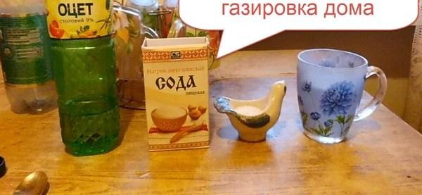 Домашний рецепт газировки